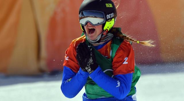 """Snowboardcross, Michela Moioli: """"Sono super soddisfatta, non avevo grandi sensazioni alla vigilia"""""""