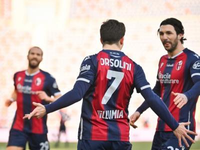 Calcio, Serie A 2020-2021: Verona ko a Bologna, decide Orsolini. Pari a reti bianche tra Torino e Spezia