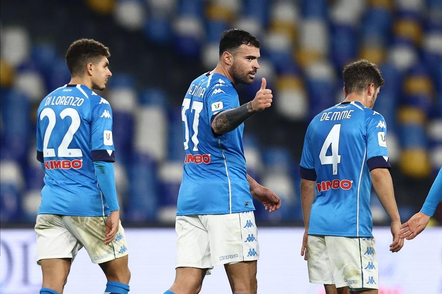 Serie A calcio, i risultati di domenica 17 gennaio: Napoli Fiorentina 6 0. Sassuolo Parma 1 1, vince il Crotone