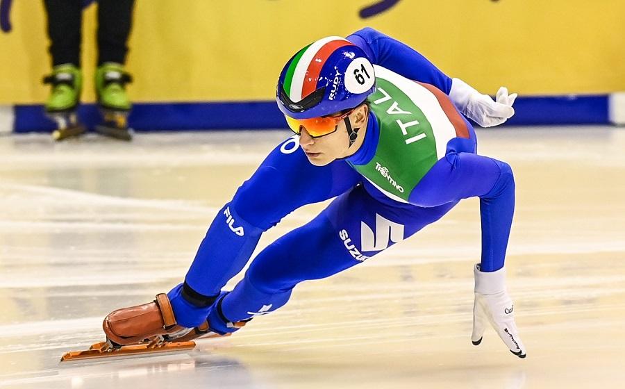Short track, Pietro Sighel si consacra tra i grandi! Fantastico bronzo mondiale nei 500 metri!