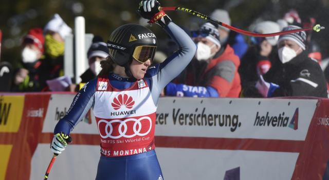 """Sci alpino, Goggia: """"Non pensavo di vincere"""", Brignone """"Contenta per il 9° posto"""", Delago: """"Posso fare meglio"""""""