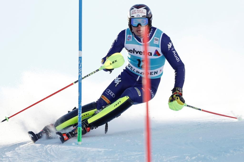 LIVE Sci alpino, Slalom Flachau in DIRETTA: a metà della seconda manche guida Aerni. Gross punta alla top ...