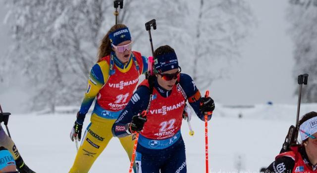 Biathlon oggi, staffetta donne Nove Mesto: orario, tv, programma, streaming, pettorali