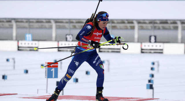 Biathlon oggi: orari, tv, programma, streaming, pettorali Sprint femminile Nove Mesto