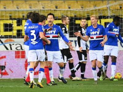 Calcio, Serie A 2021: Parma-Sampdoria 0-2, Yoshida e Keita stendono i ducali al Tardini