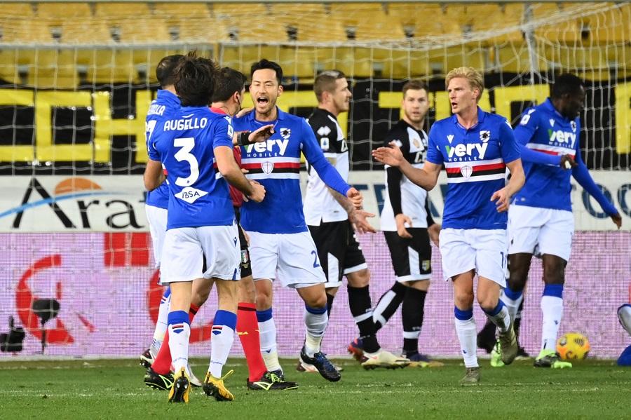 Calcio, Serie A 2021: Parma Sampdoria 0 2, Yoshida e Keita stendono i ducali al Tardini