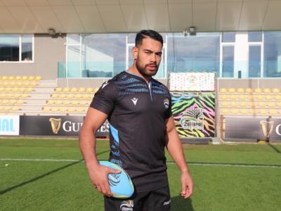 Rugby, Pro 14: Zebre, arriva dalla Nuova Zelanda Potu Leavasa