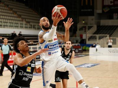 Basket, Serie A: Treviso espugna Trento nel posticipo