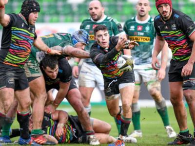 Rugby, PRO14 2021: le Zebre vincono un derby combattuto