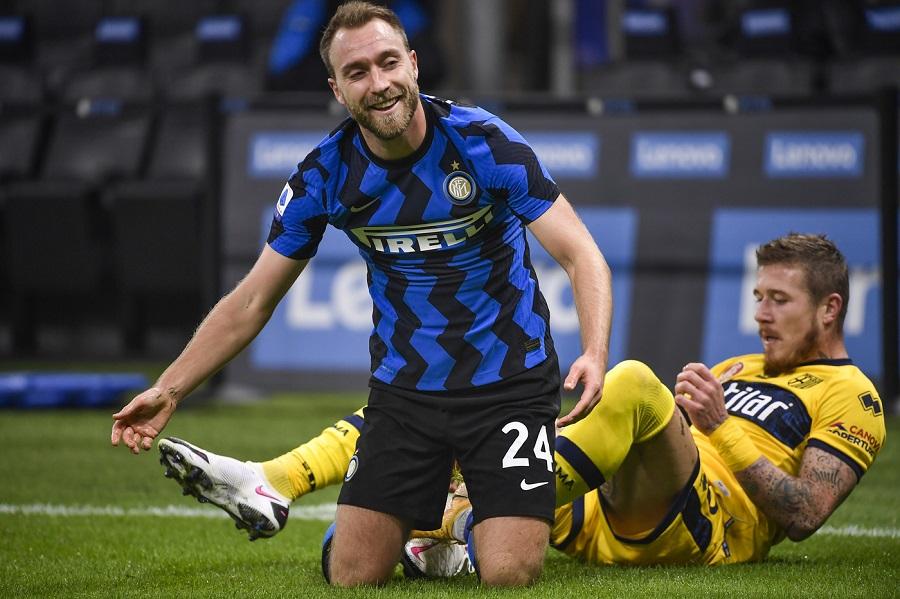 VIDEO Inter Milan 2 1: highlights e sintesi Coppa Italia. Punizione capolavoro di Eriksen nel recupero