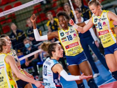 Volley femminile, Conegliano liquida il Nantes e vince il girone di Champions League. Egonu sugli scudi