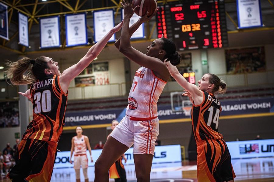 Basket femminile, Schio si arrende a Ekaterinburg nella prima partita della bolla di Eurolega 2021