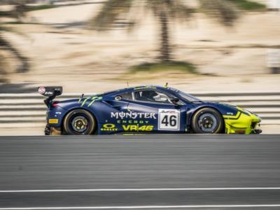 12 Ore del Golfo, Valentino Rossi 4° nella FP3. McLaren controlla