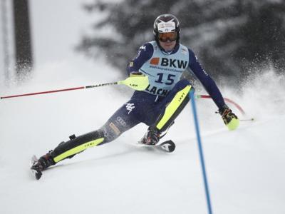 VIDEO Alex Vinatzer 2° dopo la prima manche: l'azzurro sogna nello slalom dei Mondiali di sci alpino