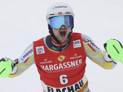 Sci alpino, Foss-Solevaag sfata il tabù a Flachau. Ginnis fa sognare la Grecia, 13° Moelgg