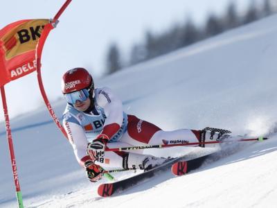 Sci alpino, Loic Mellard davanti nel gigante di Adelboden. Paura per Tommy Ford, 10° De Aliprandini