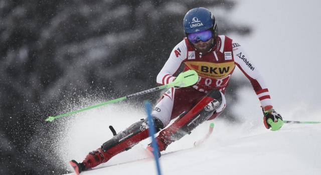 Sci alpino, Schwarz precede Noel nella prima manche dello slalom di Lenzerheide. 8° Vinatzer