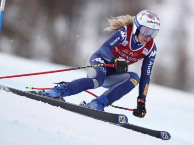 Sci alpino, Marta Bassino incanta ed è prima a metà gara a Kranjska Gora. Brignone sesta