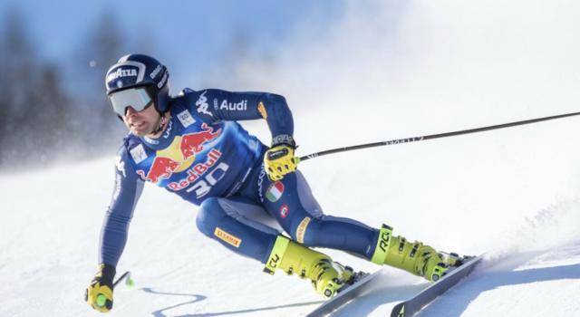 Sci alpino, Matteo Marsaglia si esalta nell'ultima prova a Kitzbuehel. Dominik Paris in agguato: è 4°!