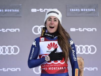 Sci alpino, Sofia Goggia epica! Poker in discesa, terza Elena Curtoni! L'Italia conquista Crans Montana!