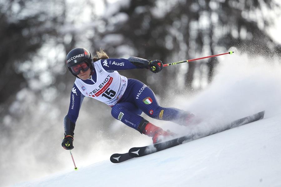 Sci alpino, Sofia Goggia guida la prima prova a Crans Montana. Che Italia con 5 azzurre in top7!