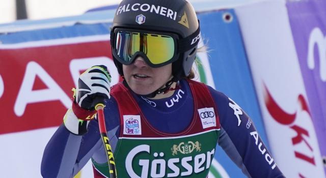 """Sci alpino, Sofia Goggia: """"Elena Curtoni da piccola mi batteva sempre. Vivo giorno per giorno"""""""