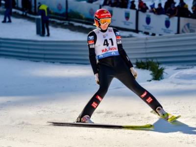 Salto con gli sci femminile: Eirin Maria Kvandal, 19 anni e vittoria a sorpresa a Ljubno. Beffata Ema Klinec. 18a Lara Malsiner