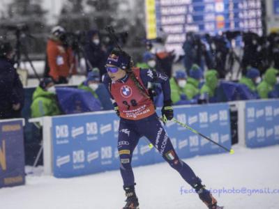 Biathlon, startlist mass start femminile Anterselva: orario, programma, tv, pettorali di partenza
