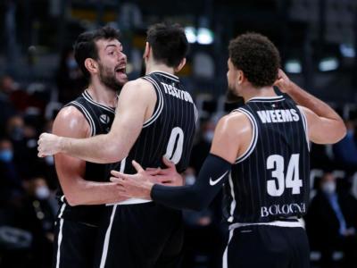 Basket, la Virtus Bologna batte ancora il Buducnost e si qualifica ai quarti di finale di EuroCup