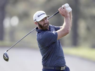 Golf: Dustin Johnson accelera e guida il Saudi International dopo tre giri su Victor Perez. Brutto calo di Migliozzi