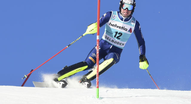 VIDEO Alex Vinatzer 4° nello slalom dei Mondiali: non riesce la magia dell'azzurro a Cortina