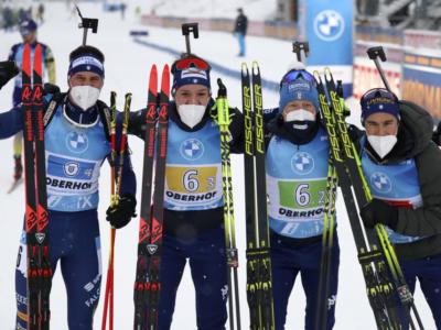 Biathlon, staffetta maschile Mondiali Pokljuka 2021. Azzurri mine vaganti nella corsa alle medaglie