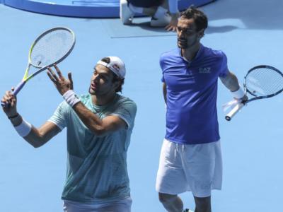 ATP Cup 2021, Berrettini e Fognini annichiliscono Thiem e Novak in doppio: Austria battuta 2-1