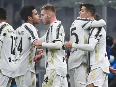 Coppa Italia 2021: alta tensione nella semifinale d'andata, Ronaldo guida la Juventus alla rimonta sull'Inter per 2-1