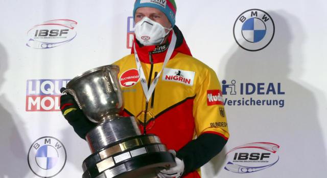 Bob: vince sempre Francesco Friedrich. Suo l'oro nel 4 ai Mondiali, 15mo Patrick Baumgartner