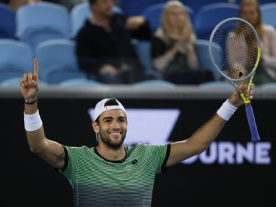 VIDEO Berrettini-Anderson, Australian Open: highlights e sintesi. Il romano chiude in tre partite un incontro insidioso