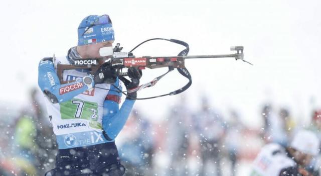 VIDEO Biathlon, Lukas Hofer 3° nell'inseguimento di Oestersund. Vince Laegreid. Highlights e sintesi