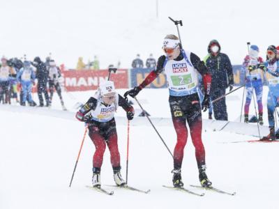 Biathlon, la Norvegia apre i Mondiali con l'oro nella staffetta mista. Sesta l'Italia