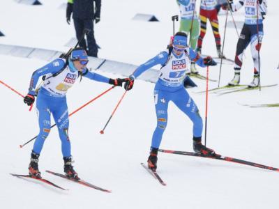 Biathlon, l'Italia può cercare di sorridere nonostante la delusione della staffetta mista