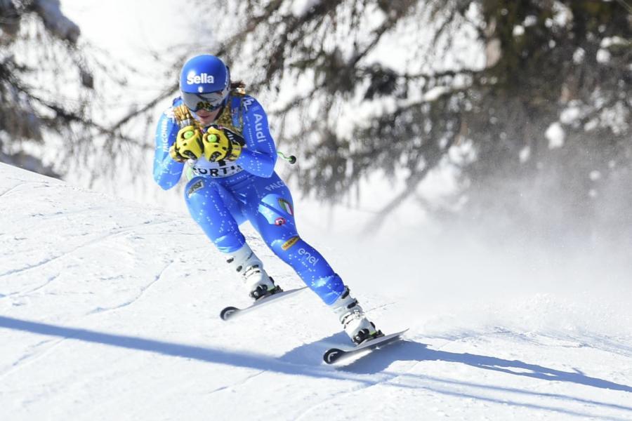 Sci alpino oggi    Prova Discesa Val di Fassa    orario    tv    programma    pettorali