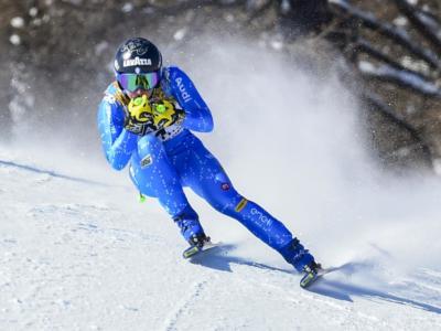 Sci alpino, Francesca Marsaglia è campionessa italiana di superG, beffata Elena Curtoni