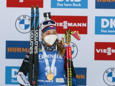 Biathlon, le pagelle di oggi: il grande riscatto di Davidova, Wierer si consola con la coppa della 15km