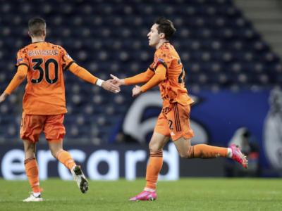 Pagelle Porto-Juventus 2-1, prestazione da dimenticare per gli uomini di Pirlo, Chiesa tiene vive le speranze di qualificazione
