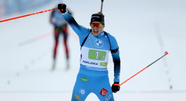 Biathlon, la Francia sorprende tutti e vince la single mixed dei Mondiali 2021! Italia quinta, crollata sul più bello