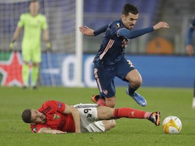 Europa League 2020-2021: Manchester United e Tottenham a valanga, l'Arsenal pareggia col Benfica