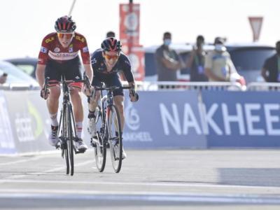 LIVE UAE Tour, quinta tappa in DIRETTA: Nibali ripreso nel finale, vince Vingegaard. Pogacar sempre leader