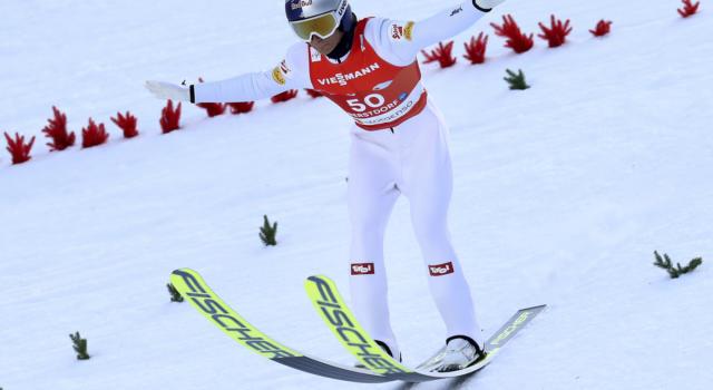 Combinata nordica, l'Austria in testa alla gara a squadre dopo la prova di salto dei Mondiali. Settima l'Italia