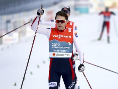 Combinata nordica, Norvegia in trionfo ai Mondiali nella prova a squadre maschile. Sul podio Germania e Austria, settima l'Italia