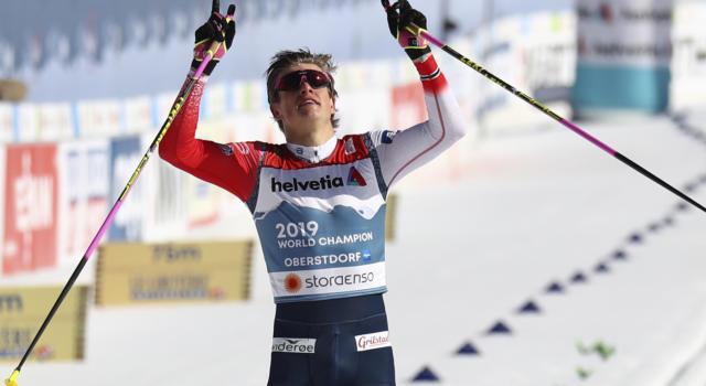 Sci di fondo: Klaebo irreale, Norvegia d'oro nella team sprint maschile dei Mondiali. Pellegrino cade, Italia quinta