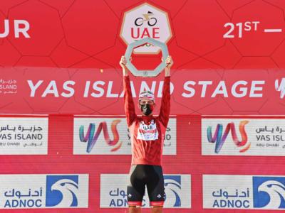 """UAE Tour, Tadej Pogacar: """"Vittoria grandiosa, era il primo obiettivo della stagione"""""""